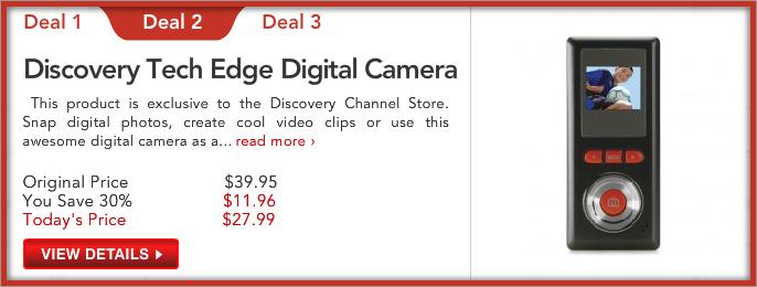 Discovery Tech Edge Digital Camera
