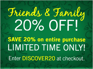 Discovery 20% off Friends & Family Discount