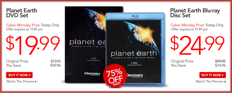 Discovery Planet Earth DVD Set