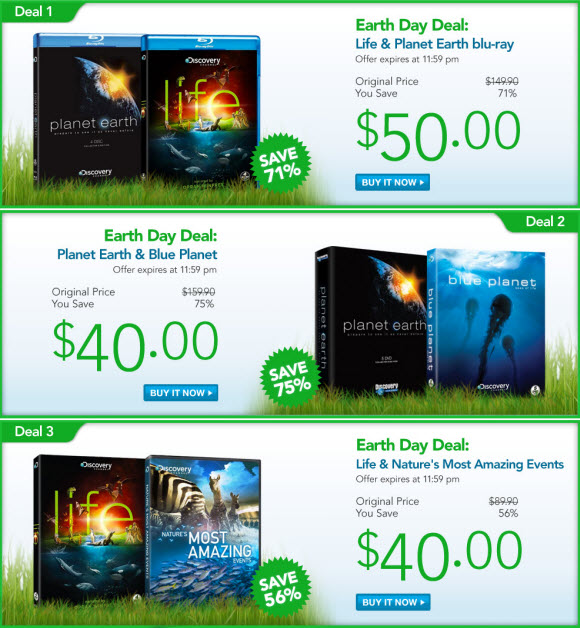 The Discovery Channel Store Blog: Planet Earth