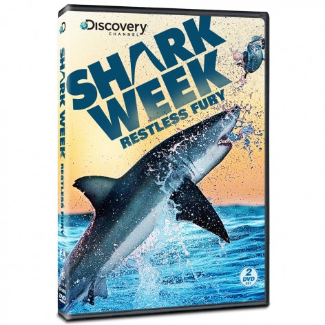 Shark Week Restless Fury DVD